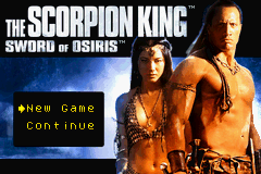 The Scorpion King - Sword of Osiris (E)(Cezar) Title Screen