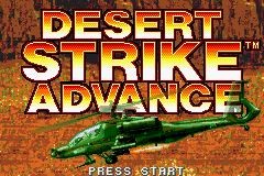 Desert Strike Advance (U)(Venom) Title Screen