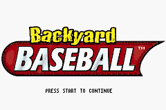 Backyard Baseball (U)(Venom) Title Screen