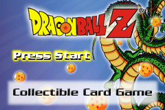 Dragon Ball Z - Collectible Card Game (U)(Mode7) Title Screen