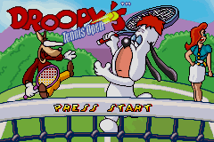 Droopys Tennis Open (E)(Eurasia) Title Screen