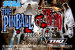 The Pinball of the Dead (U)(Venom) Title Screen