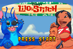 Disney's Lilo & Stitch (E)(Patience) Title Screen