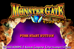 Monster Gate (J)(Independent) Title Screen