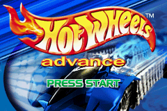 Hot Wheels Advance (J)(Independent) Title Screen