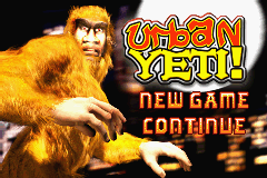 Urban Yeti! (U)(Eurasia) Title Screen