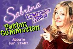 Sabrina The Teenage Witch - Potion Commotion (U)(Eurasia) Title Screen