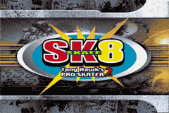 SK8 - Tony Hawk's Pro Skater 2 (J)(Independent) Title Screen