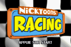 Nicktoons Racing (E)(Patience) Title Screen
