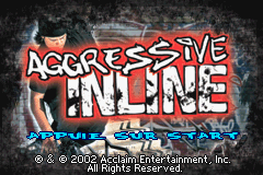 Aggressive Inline (E)(Patience) Title Screen