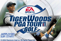 Tiger Woods PGA Tour Golf (E)(Patience) Title Screen