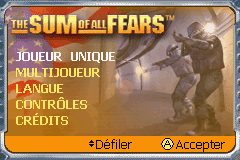The Sum of All Fears (E)(Menace) Title Screen