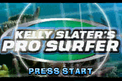 Kelly Slater's Pro Surfer (U)(Mode7) Title Screen