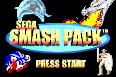 Sega Smash Pack (U)(Venom) Title Screen