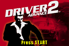 Driver 2 Advance (E)(Eurasia) Title Screen
