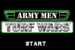 Army Men - Turf Wars (U)(Mode7) Title Screen