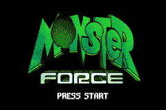 Monster Force (E)(LightForce) Title Screen