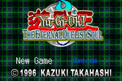 Yu-Gi-Oh! - The Eternal Duelist Soul (U)(Mode7) Title Screen