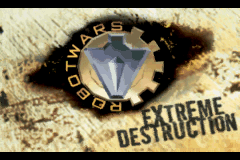 Robot Wars - Extreme Destruction (E)(Mode7) Title Screen