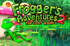 Frogger's Adventure 2 - The Lost Wand (U)(Mode7) Title Screen