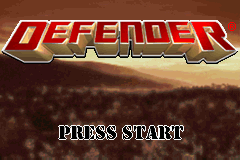 Defender (U)(Venom) Title Screen