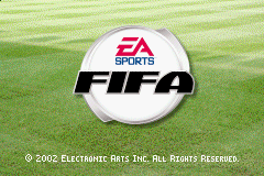 FIFA 2003 (U)(Mode7) Title Screen