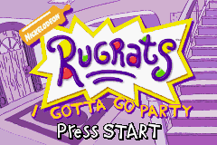 Rugrats - I Gotta Go Party (U)(Patience) Title Screen