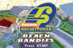 Rocket Power - Beach Bandits (U)(Venom) Title Screen