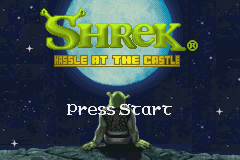 Shrek Hassle at the Castle (E)(Independent) Title Screen