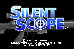 Silent Scope (J)(Evasion) Title Screen
