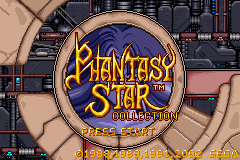 Phantasy Star Collection (U)(Mode7) Title Screen