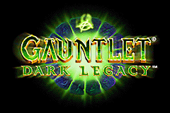 Gauntlet - Dark Legacy (U)(Mode7) Title Screen