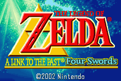 The Legend Of Zelda - A Link To The Past (U)(Mode7) Title Screen