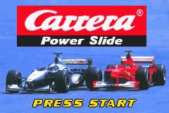 Carrera Power Slide (E)(Venom) Title Screen
