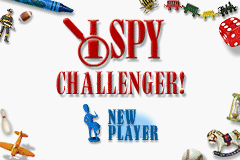 I Spy Challenger (U)(GBATemp) Title Screen
