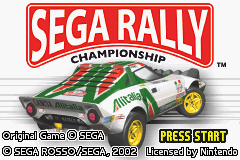 Sega Rally Championship (J)(Eurasia) Title Screen