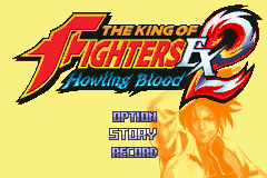 The King Of Fighters EX2 - Howling Blood (J)(Eurasia) Title Screen