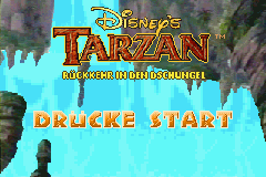 Disney's Tarzan - Ruckkehr in den Dschungel (G)(GBANow) Title Screen