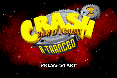Crash Bandicoot 2 N-Tranced (U)(Noitami) Title Screen