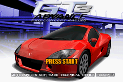 GT Advance 3 - Pro Concept Racing (U)(Mode7) Title Screen