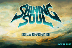 Shining Soul (E)(Patience) Title Screen
