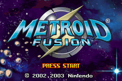 Metroid - Fusion (J)(Polla) Title Screen
