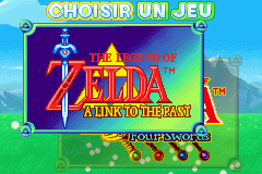 The Legend Of Zelda - A Link To The Past (E)(Cezar) Title Screen