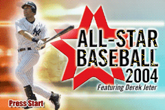 All-Star Baseball 2004 (U)(Venom) Title Screen