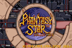 Phantasy Star Collection (E)(Patience) Title Screen