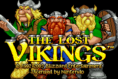 The Lost Vikings (E)(Eurasia) Title Screen