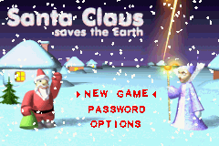 Santa Claus Saves the Earth (E)(Eurasia) Title Screen