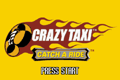 Crazy Taxi - Catch a Ride (U)(Venom) Title Screen