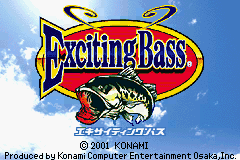 Exciting Bass (J)(GBATemp) Title Screen