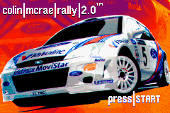 Colin McRae Rally 2 (U)(BatMan) Title Screen